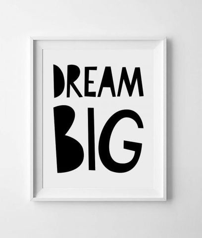 Poster A3 Mini Learners Dream Big