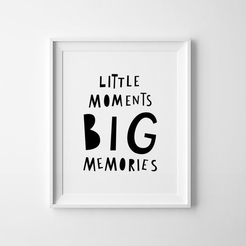 Poster A3 Mini Learners Memories