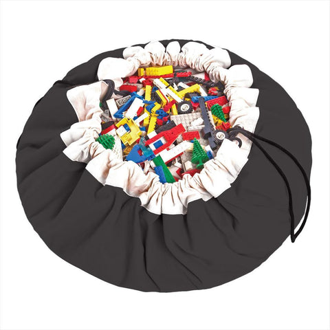 Playmat / Storage sack Play & Go Black