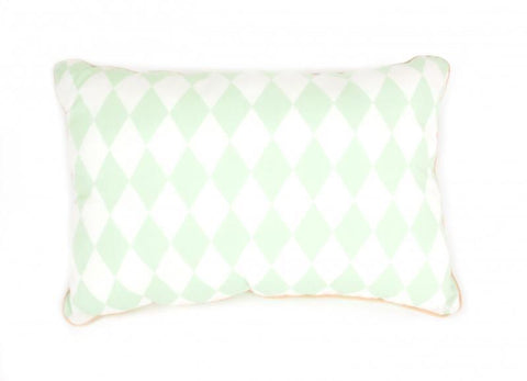 Cushion Nobodinoz Jack Green Diamonds