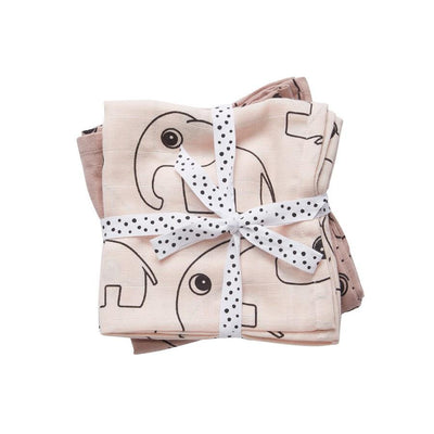 Done by Deer - Swaddle 2-pack Contour powder