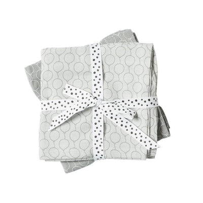 Done by Deer - Swaddles 2-pack Balloon grey