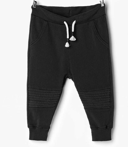 Biker Jogging Pants Black