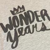 T-Shirt Wonder Years Black