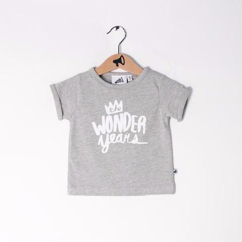 T-Shirt Wonder Years White (Last Piece 56-62)