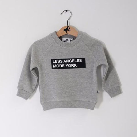 Sweater L.A. vs N.Y.C.