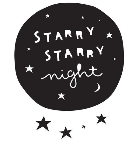 Wall Sticker Starry Nights