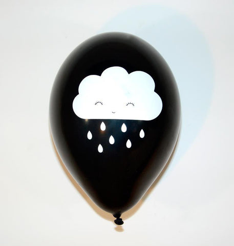 Set of 6 balloons Cloud