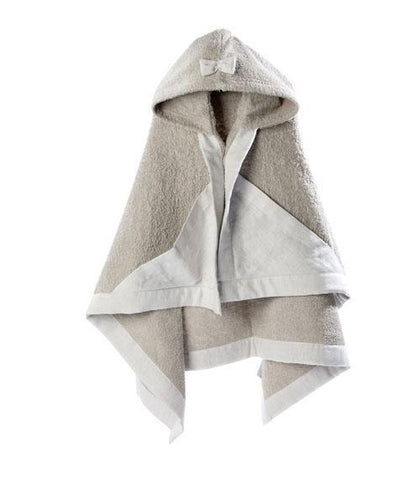 House of Jamie - Hooded baby towel Sand