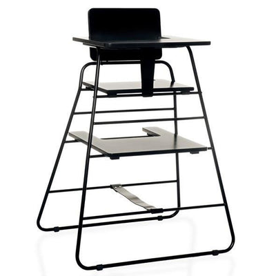 Budtzbendix Tower Chair Back to Black