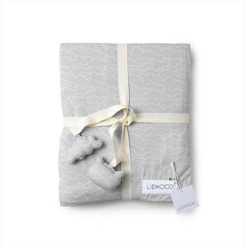Liewood - Duvet Cover Clouds Dumbo Grey (-30%)