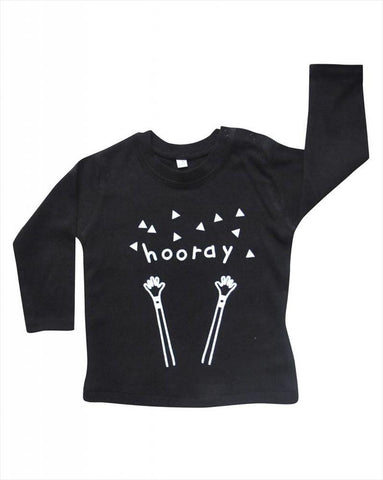 T-shirt Hooray Black