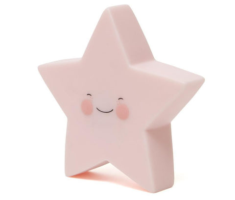 Night Light Eef Lillemor Star Pink