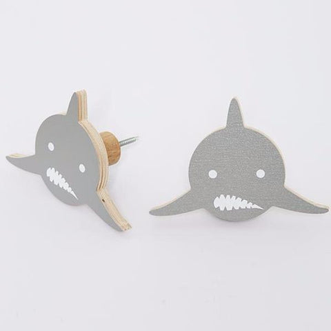 Wall Hook That's Mine Bear Shark
