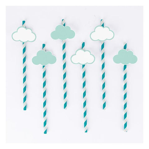 My Little Day 12 Straws Clouds