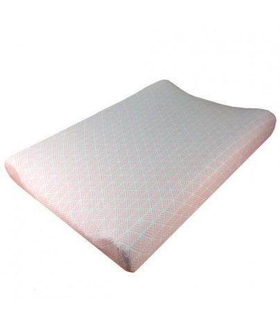 Fundas - Changing mat cover Pink Spikes