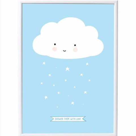 XL Poster Cloud Blue (50x70)