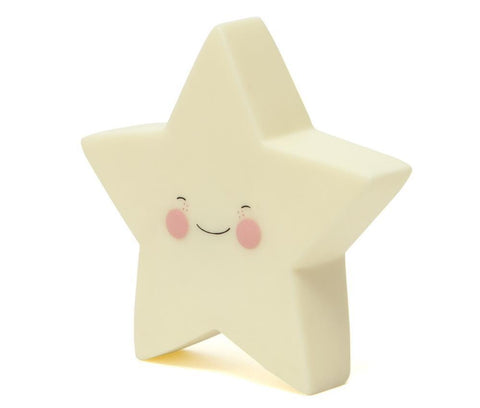 Night Light Eef Lillemor Star Yellow