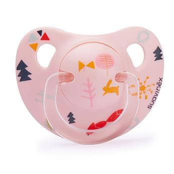 Teether Suavinex Pink Woods (+6m)