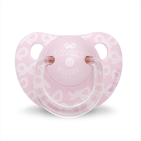 Teether Suavinex Lovely Biscuits Pink (0-6m)