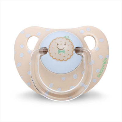 Suavinex - Pacifier Anatomical 0-6 Months Biscuit