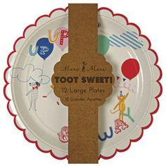 Meri Meri - Toot Sweet Children Large Plate