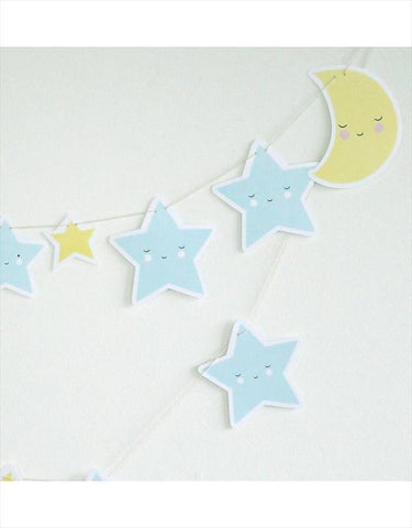 Garland Moon and Stars
