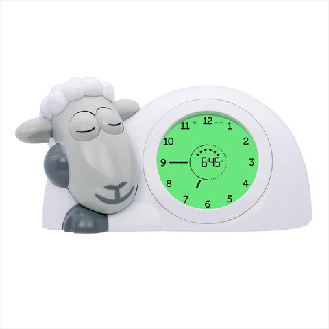 Sleep Trainer with Nightlight Sheep Sam Grey
