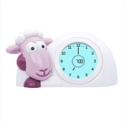 Sleep Trainer with Nightlight Sheep Sam Pink