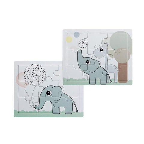 Set of 2 puzzles Elphee and Raffi