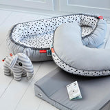Done by Deer - Cozy Nest Happy Dots Grey