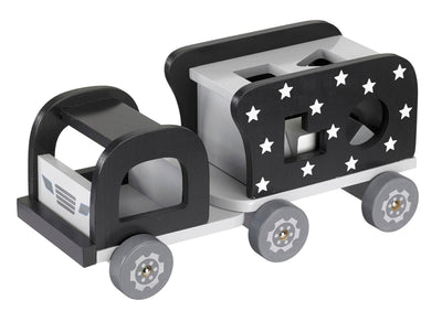 Kids Concept - Sorting Game Truck Black