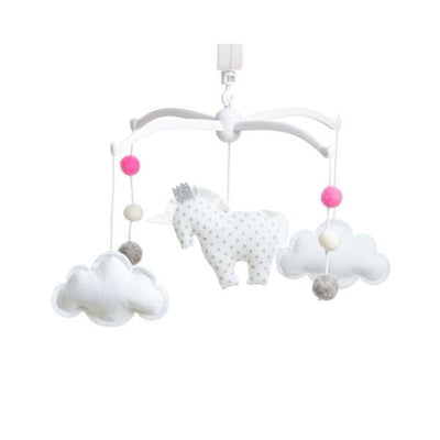 Pouce et Lina - Musical Mobile Unicorn Pink