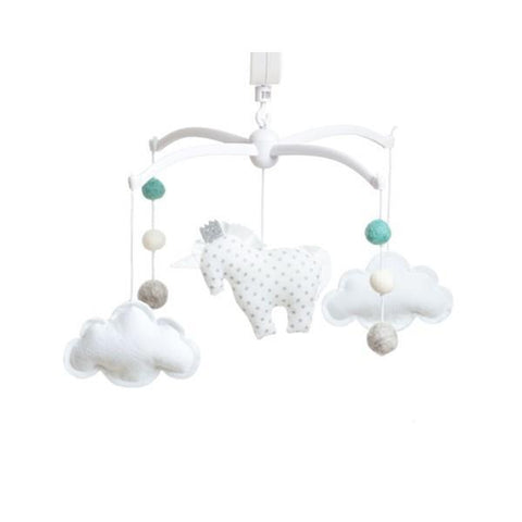 Musical mobile Pouce & Lina - Unicorn Green