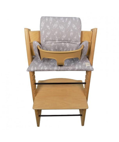 High Chair Cushion Tripp Trapp Stokke Feathers