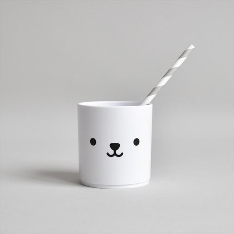 Cup Buddy and Bear White Edition Bear