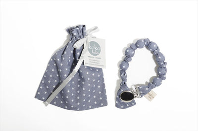 Kokolala Ball Pacifier Holder - Blue Stars