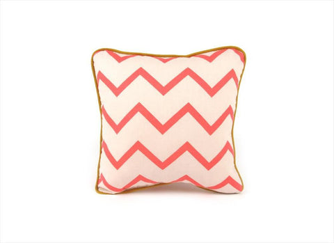 Cushion Nobodinoz Joe Zig Zag Pink