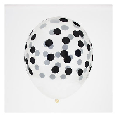 My Little Day - Confetti Balloons Black