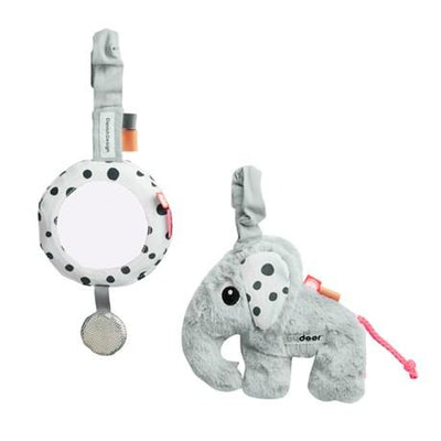 Done By Deer - To Go Activity Set Grey