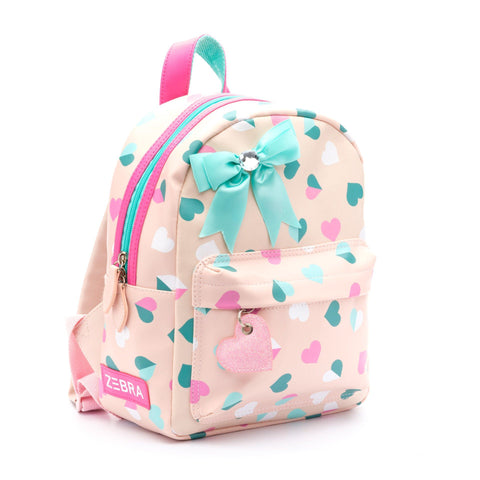 Zebra Trends - Backpack Small Hearts Pink