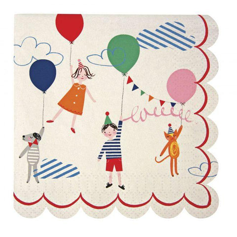Meri Meri - Toot Sweet Children Small Napkins