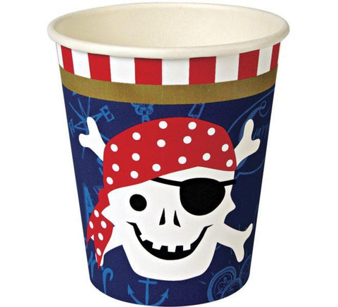 Meri Meri - Ahoy There Pirate Party Cups