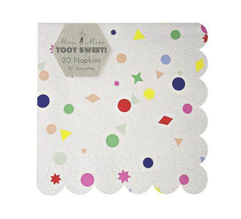 Meri Meri - Toot Sweet Charms Small Napkins