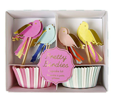 Meri Meri - Pretty Birdies Cupcake Kit