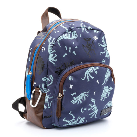 Zebra Trends - Backpack small dino fossil blue