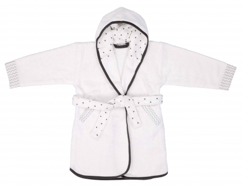Luma - Bathrobe Mixed White
