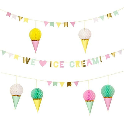 Meri Meri - Ice Cream Garland