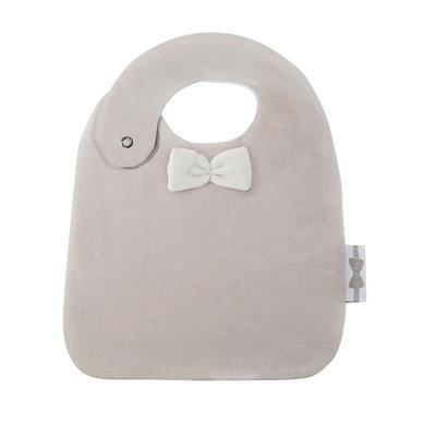 House of Jamie - Bow Tie Bib Sand