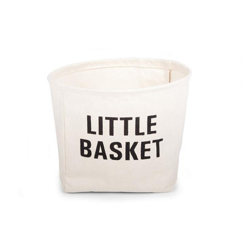 Childhome SMALL BOX COTTON KIDS LITTLE BASKET